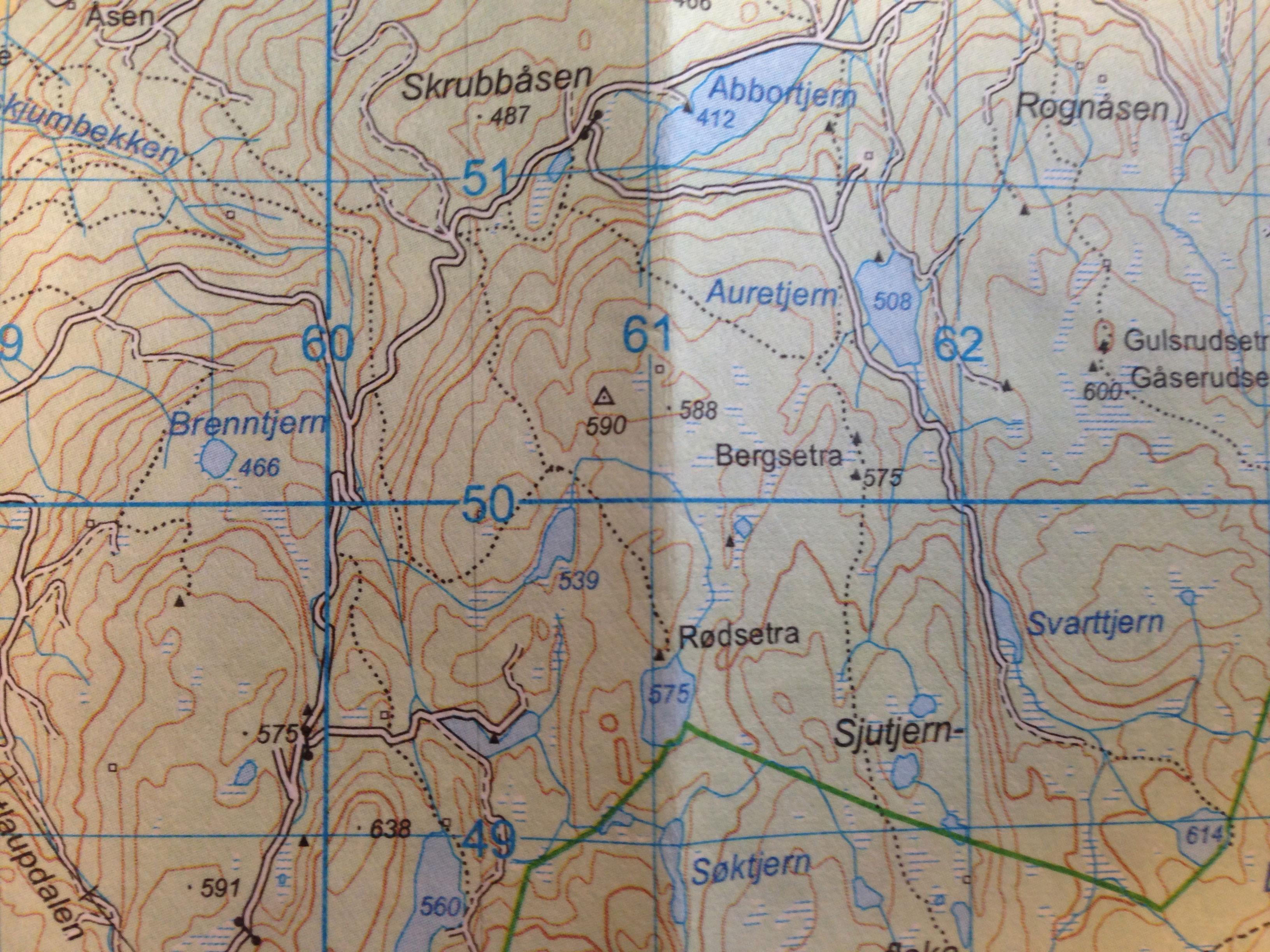 hvordan lese kart Hvordan bruke kart og kompass ⋆ Friluftsliv   Kom deg ut en tur  hvordan lese kart