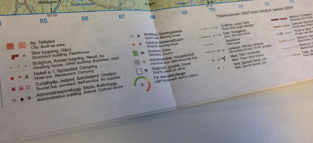 Kartforklaringer