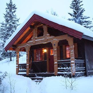 Hytte til leie på fjellet