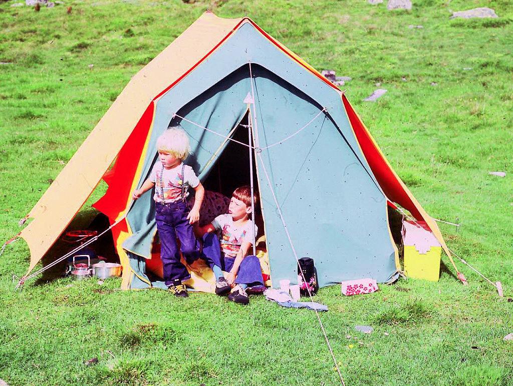 Bilde av telttur