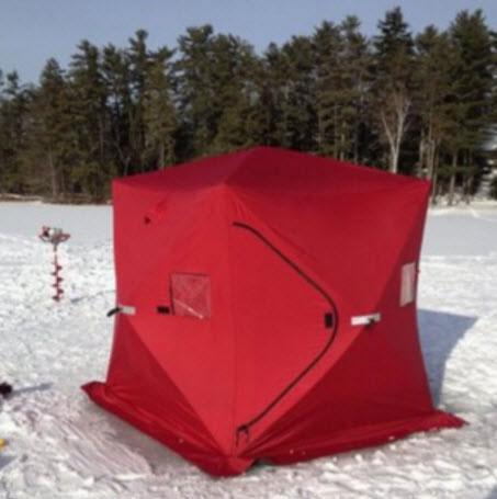 Isfikstelt - telt til pilking